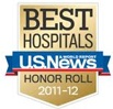 Best Hospital - U.S.News - HONOR ROLL - 2011-2012